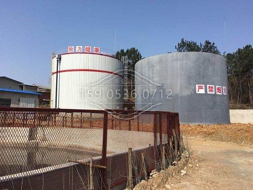 华全50kw养殖场专用双余热回收机组厂家现场一角