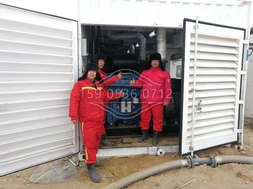 350kw玉柴天然气发电机安装