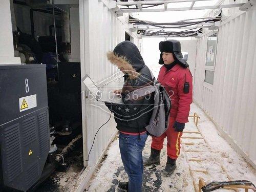350kw玉柴天然气发电机检测