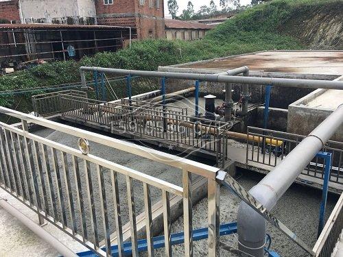 曝气池污水处理部分一